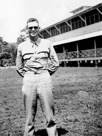 ON BACK: Laurence M. Cole France Field Panama 1941?