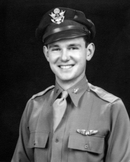 2nd Lt. Parks February 16, 1943 Advanced Flight Graduation