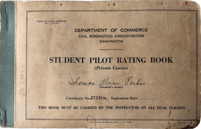 1941-06 Flight Book
