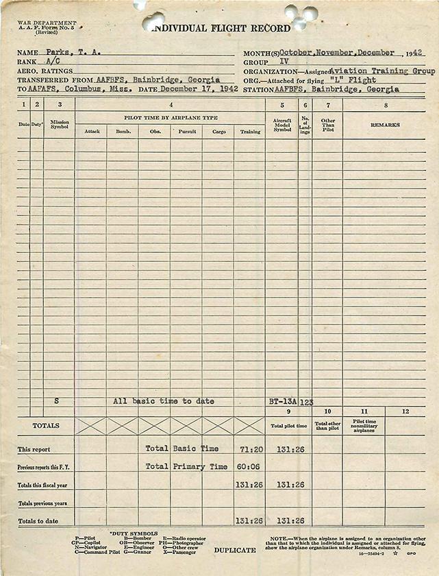 1942-12-17-flight-record