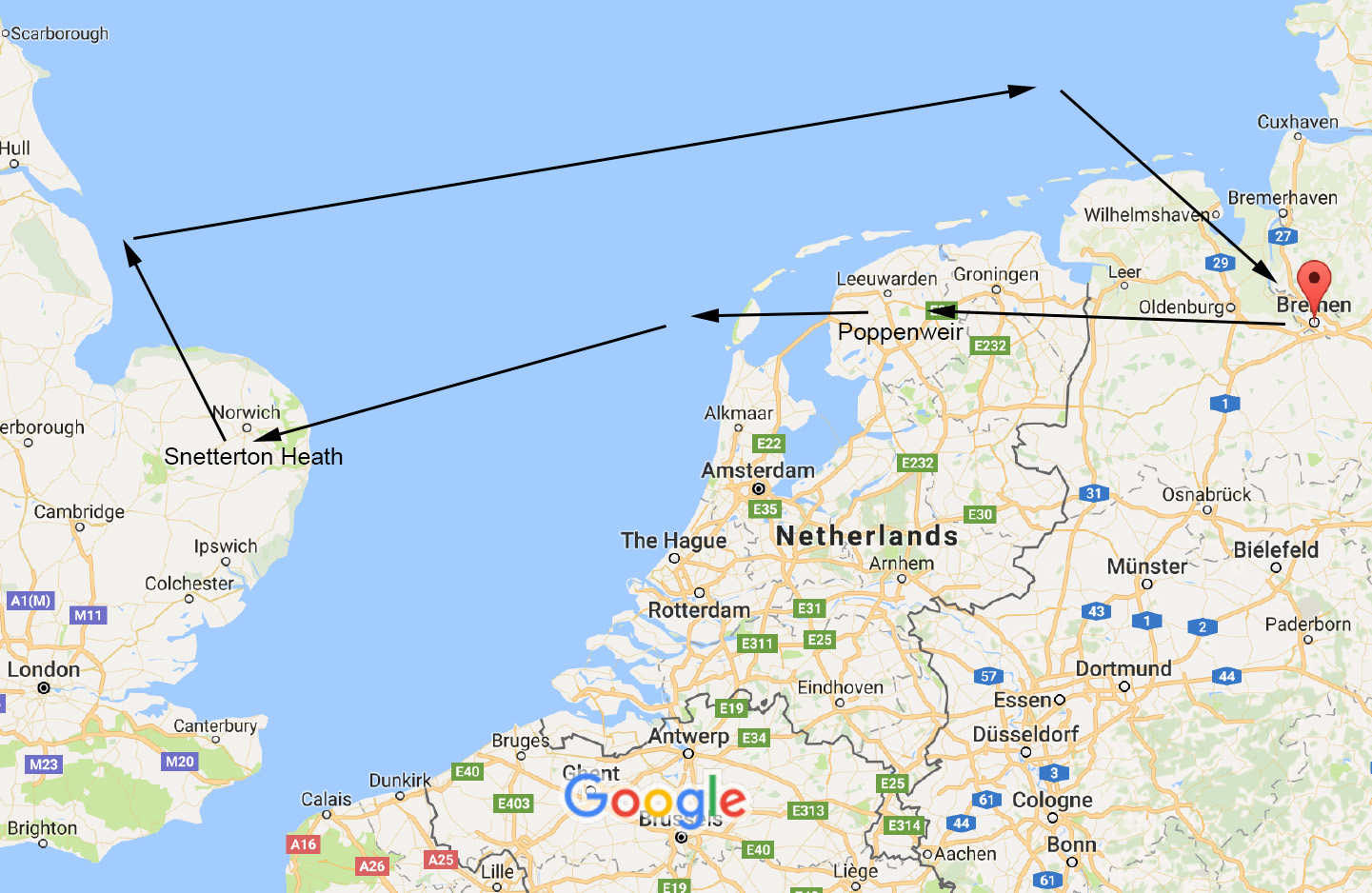 Google Maps Bremen : wwii a box of old letters ~ Watch28wear.com Haus und Dekorationen