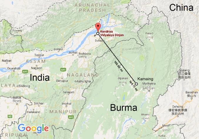 Kendriya Vidyalaya Dinjan - Google Maps