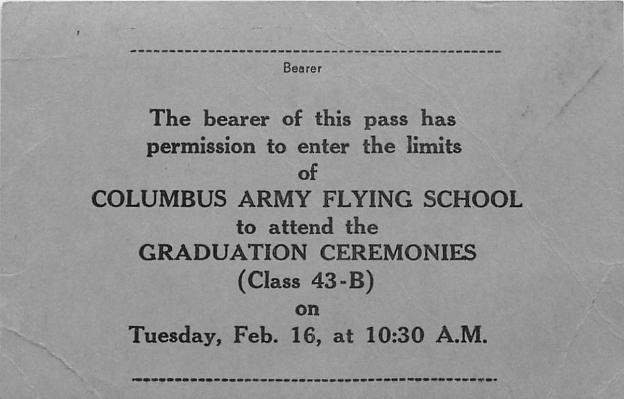 1943-02-16 Ticket