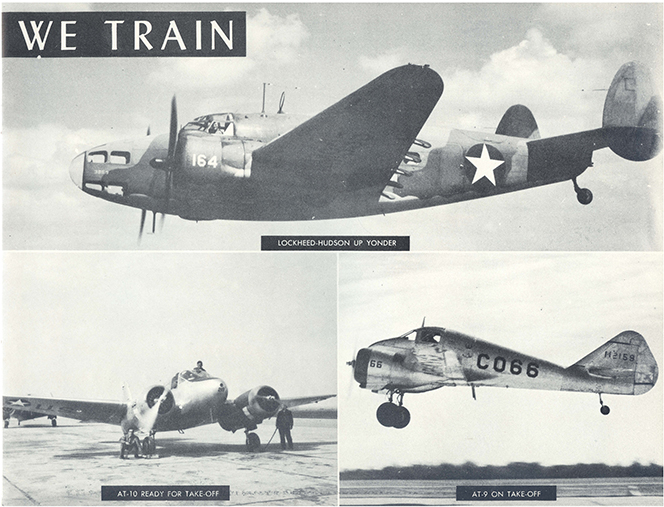 aircraft from 1943-2-16 Graduation Booklet-2